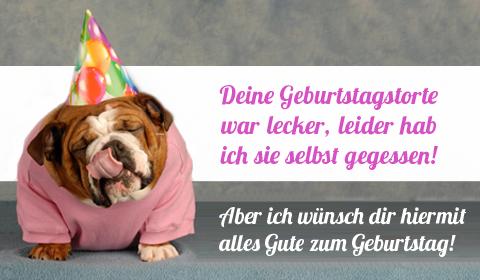 Lustige Geburtstagskarte Versenden