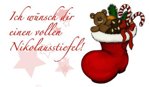 Nikolaus Grußkarten Online Verschicken